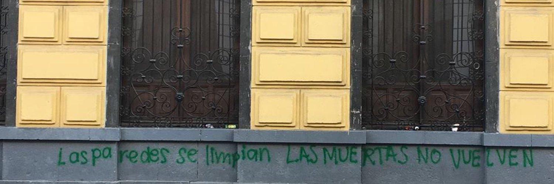 feministas vandalizan