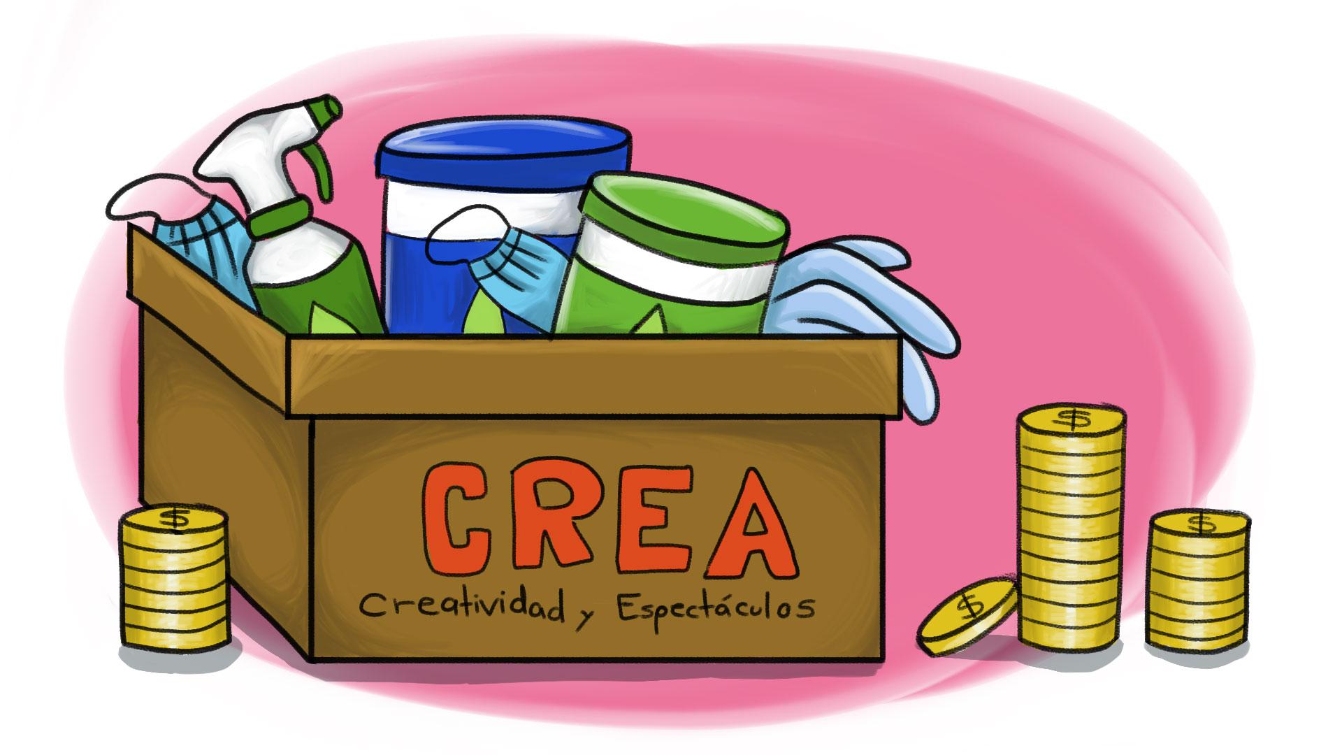 Contratos de CREA por Covid-19 en México