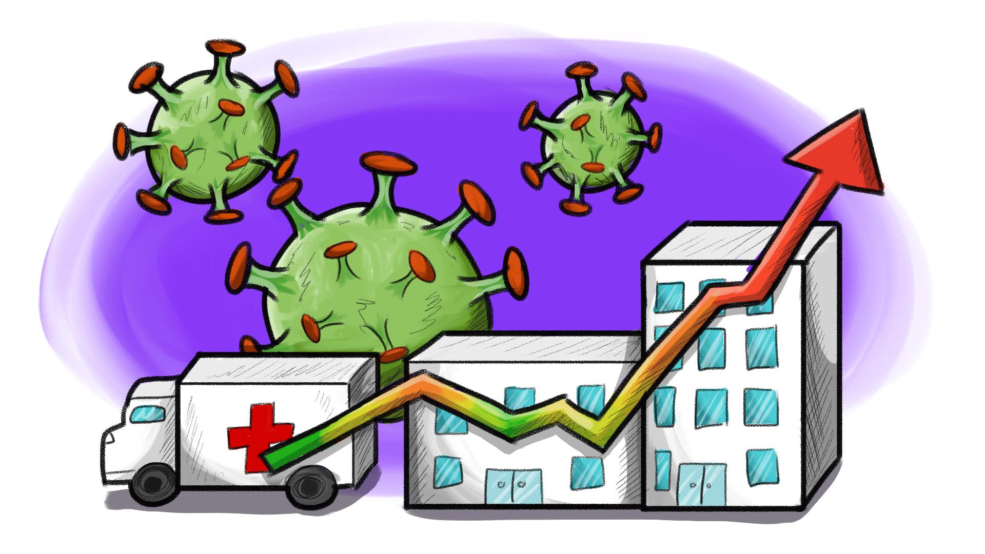 ocupación hospitalaria en méxico