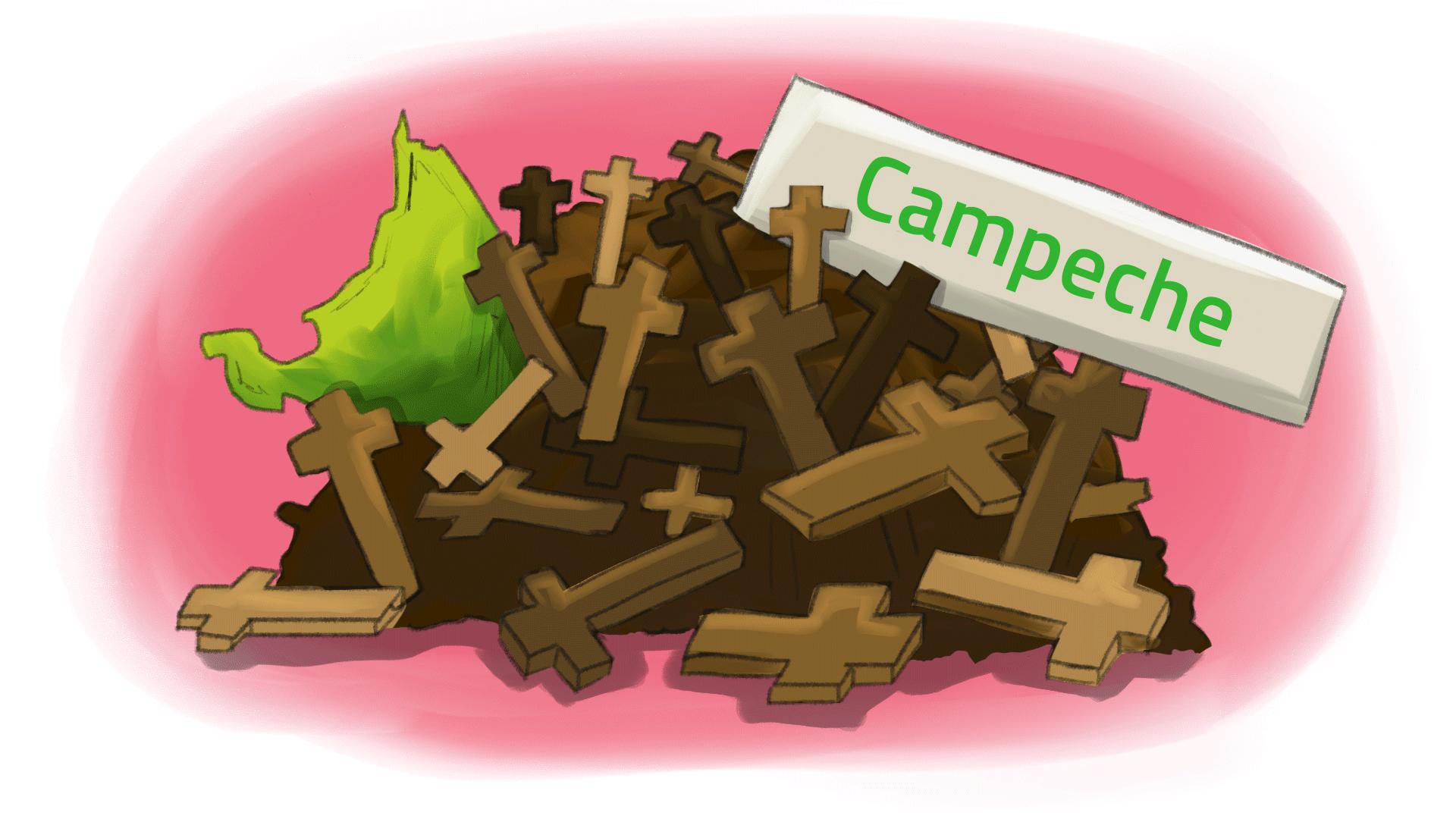 Exceso de mortalidad en Campeche