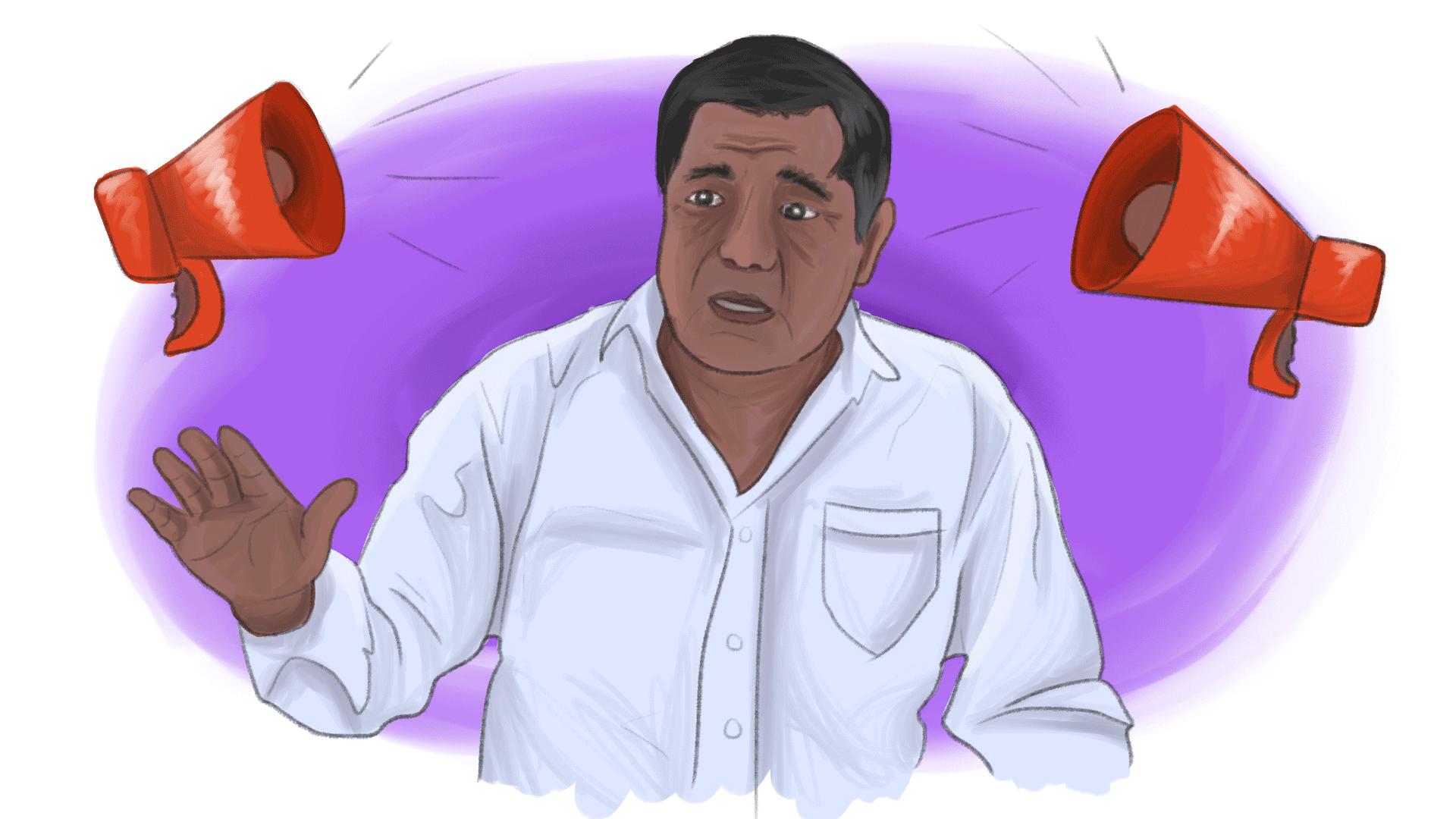 Denuncias contra Félix Salgado