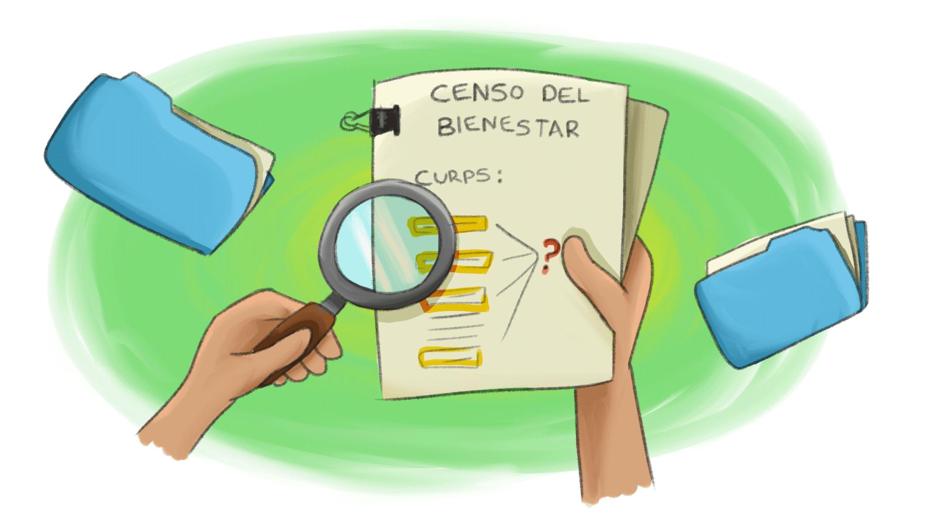 irregularidades en el censo de bienestar