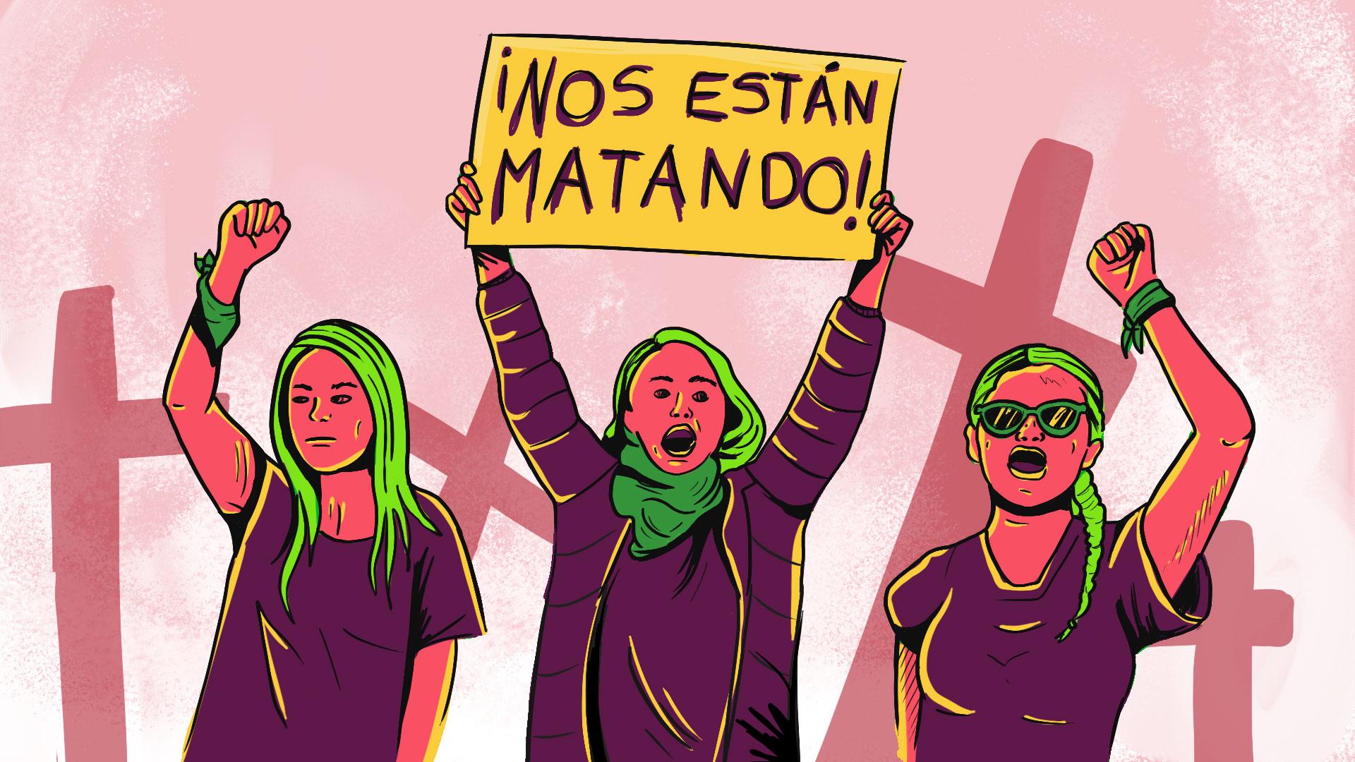 Feminicidios en México aumentan
